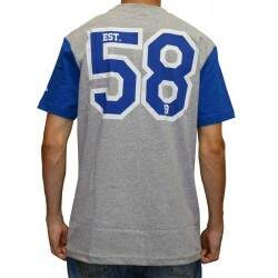 Camiseta New Era Los Angeles Dodgers - Cinza