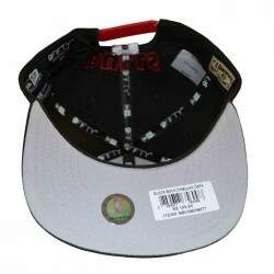 Boné New Era Original Fit Block Back Chicago Bulls NBA - Snapback