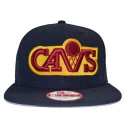 Boné New Era Original Fit Block Back Cleveland Cavaliers NBA - Snapback