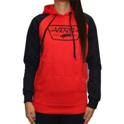 Moletom Vans Fechado Authentic Trap Pullover Hoo - Red