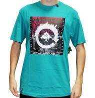 Camiseta LRG Recycled City Tee - Verde