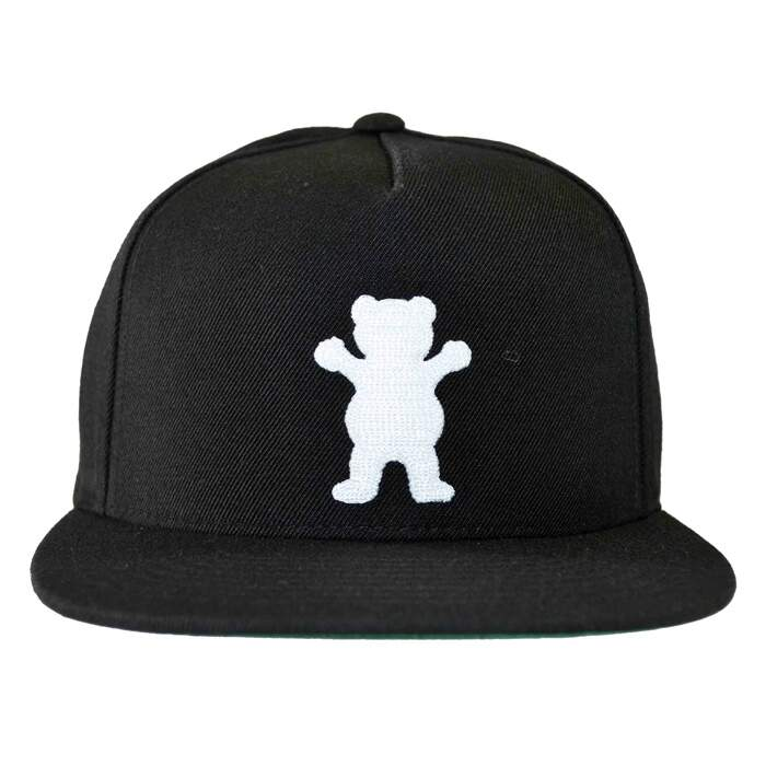 Boné Grizzly Og Bear Black - Strapback