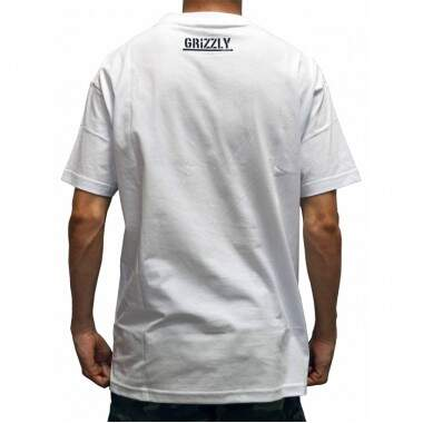 Camiseta Grizzly Shade OG Bear Tee - White