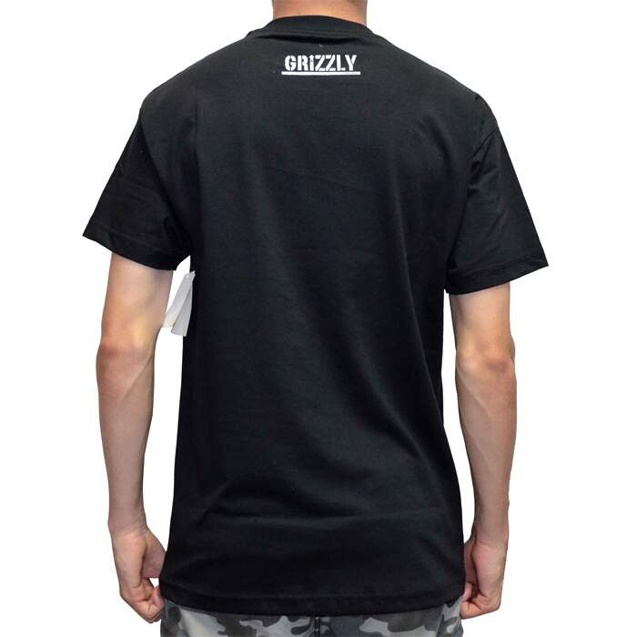 Camiseta Grizzly Shade OG Bear Tee - Black