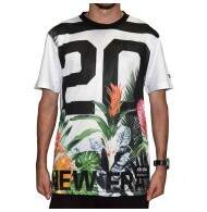 Camiseta New Era Floral - White
