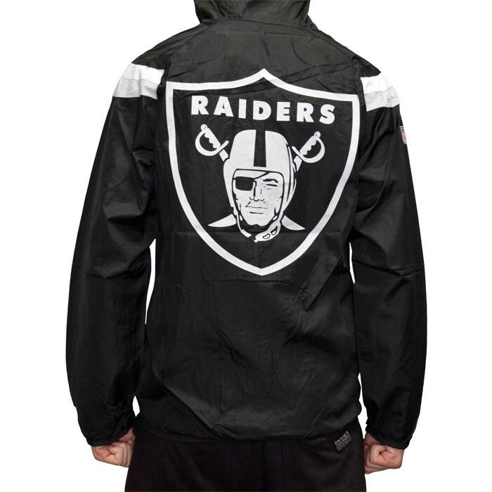 Jaqueta New Era Windrreaker Oakland Raiders - Black