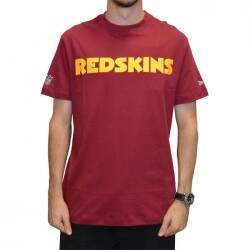 Camiseta New Washington Redskins - Bordo