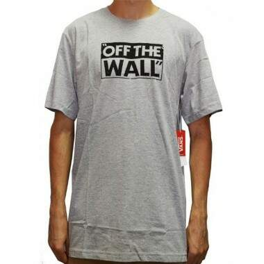 Camiseta Vans Off The Wall Pop Tee - Cinza