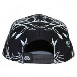 Boné Live 5 Panel Gomos - Black