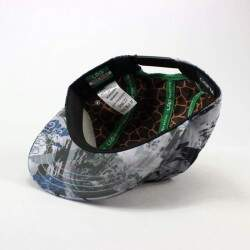 Boné LRG 5panel Research Plus Destroy Graphite Snapback - Camuflado