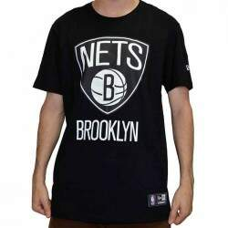 Camiseta New Era Brooklyn Nets NBA - Black