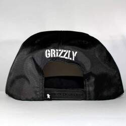 Boné Grizzly Highs And Lows Preto - Snapback