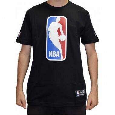 Camiseta New Era Logo NBA - Black