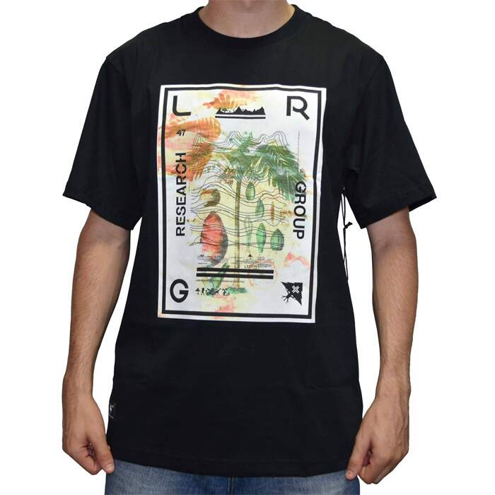 Camiseta LRG Nuetral Waves - Black