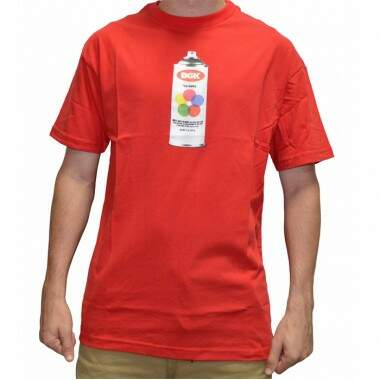 Camiseta DGK Hit UP - Red