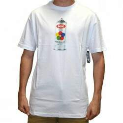 Camiseta DGK Hit UP - White