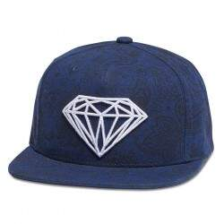 Boné Diamond Supply Co Brilliant Radiant Navy - Clippback