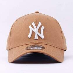 Boné New Era Aba Curva Fechado New York Yankees - Caramelo