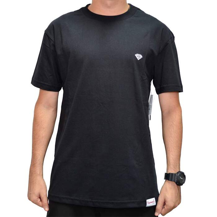 Camiseta Diamond Supply Co Micro Brilliant - Black