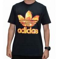 Camiseta Adidas Trefoil Graphic - Black