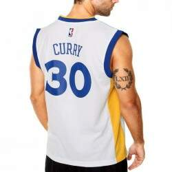 Camiseta Regata Adidas 30 Curry Golden State Warriors NBA - White