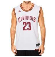 Camiseta Regata Adidas 23 James Clevelan Cavaliers NBA - White