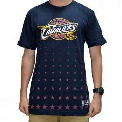 Camiseta New Era Constallation Cleveland Cavaliers NBA - Navy