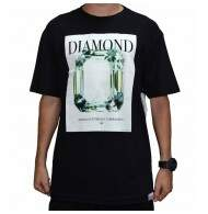 Camiseta Diamond Supply Co Mondrian - Black