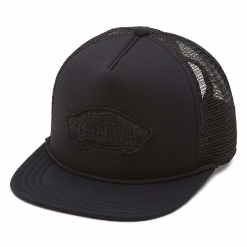 Boné Vans Classic Patch Trucker - Black