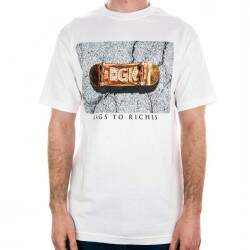 Camiseta DGK Rags to Richies - White