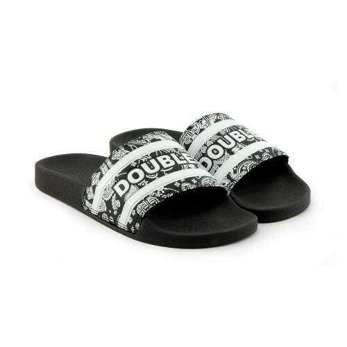 Chinelo Double G Slide Pasley Preto