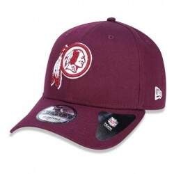 Boné New Era Aba Curva 940  Washington Redskins Vinho - Snapback