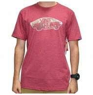 Camiseta Vans Off The Wall Fill Dark - Vinho