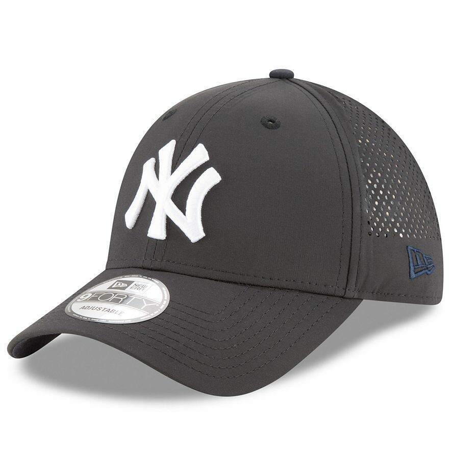 Boné New Era Aba Curva 940 New York Yankees Perf Pivot - Preto