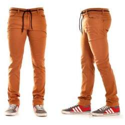 Calça New Skate Super Slim Beer - Ocre