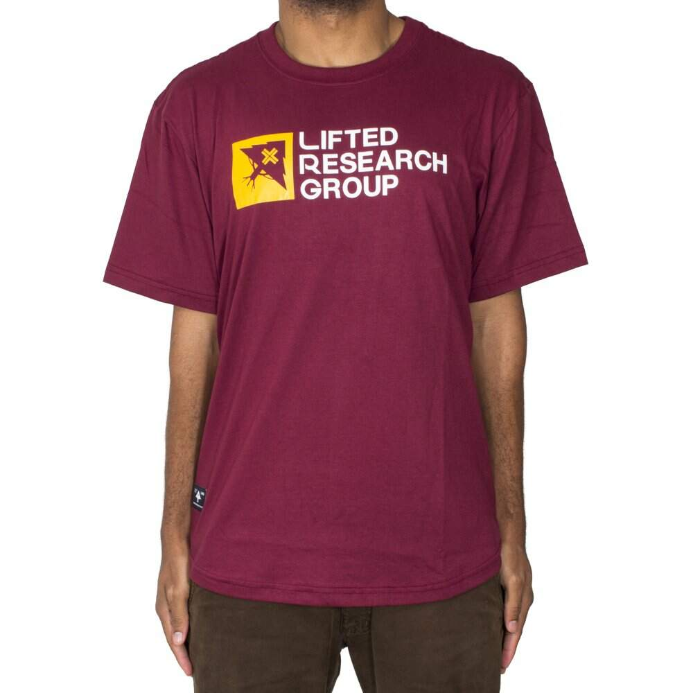 Camiseta LRG Patch Perfect Scoop - Bordo