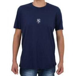 Camiseta New Era New York Yankees Mini Logo - Marinho