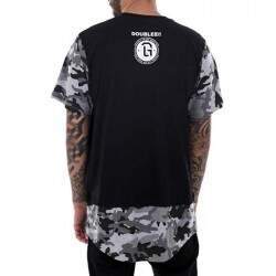 Camiseta Double G Prime Long Camo