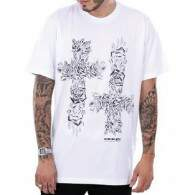Camiseta Double G Cross - Branco