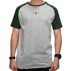 Camiseta New Era Green Bay Packers Mini Logo - Mescla