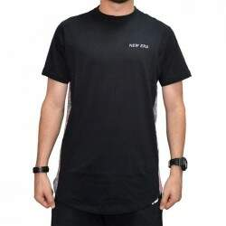 Camiseta New Era Mini Logo Recorte - Black