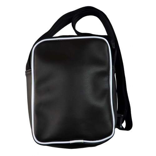 Bolsa Lateral Shoulder Bag Your Face - Preto/Branco