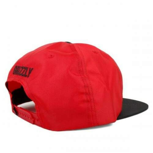 Boné Grizzly Highs Snapback - Red