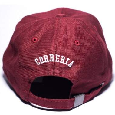 Boné Correria Diamante Dad Hat Burgundy - Strapback