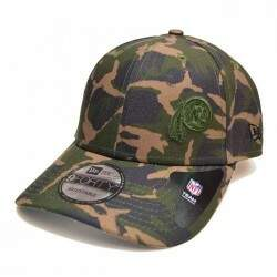 Boné New Era Aba Curva Washington Redskins Camuflado - Snapback