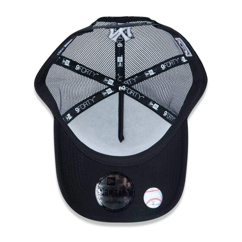 Boné New Era Aba Curva A-Frame New York Yankees - Snapback