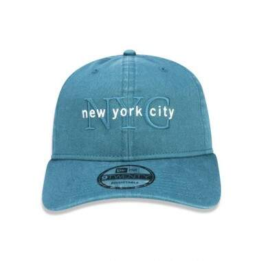 Boné New Era Aba Curva Dad Hat NYC Green - Snapback