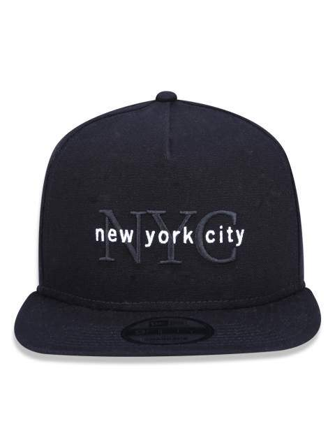 Boné New Era NYC Black - Snapback