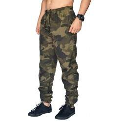 Calça Your Face Jogger Tactel Camuflada
