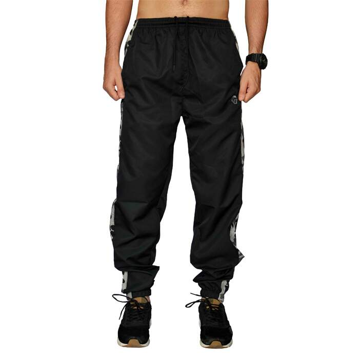Calça Your Face Jogger Tactel - Preto